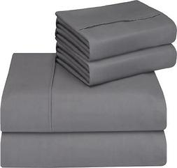 Utopia Bedding Bed Sheet Set - Soft Brushed Microfiber Wrink
