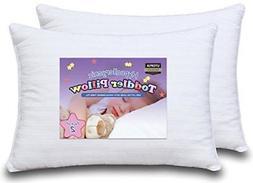 Utopia Bedding - Dreamy Baby Pillow - Two Toddler Pillow Bun