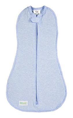 Woombie Original Baby Swaddle, Dream On Blue Heathered, Big