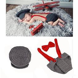 Yarra Modes Newborn Baby Boy Costume Crochet Outfits Photogr