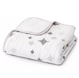 ADEN + ANAIS Dream Blanket 4 Layer Muslin Classic Shine On B
