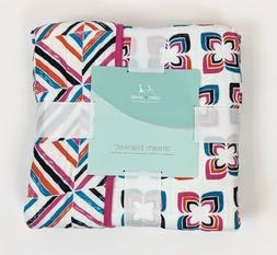 Aden and Anais Dream Blanket 100% Cotton 47 x 47 Flip Side B