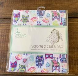 Aden And Anais New Baby Wise Owl Car Seat Canopy Cover Cotto