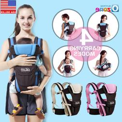 Adjustable Infant Baby Carrier Sling Newborn Kid Wrap Rider