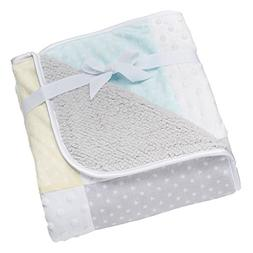 Adorable Baby Patchwork Blanket So Soft Blanket by Just Born