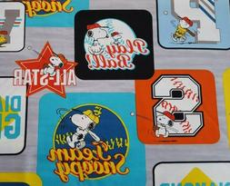All Stars Peanuts BTY Quilting Treasure Charlie Brown Lucy P