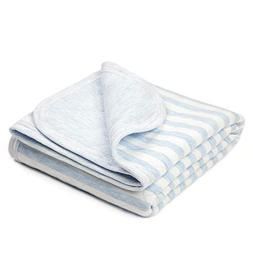 TILLYOU Allergy-Free Quilted Thermal Baby Blanket Lightweigh