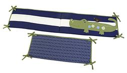 NoJo Alligator Blues Traditional Padded Bumper