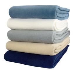 Alta Fleece Blanket- Medium weight  Anti-Pill