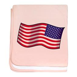 CafePress - American Flag - Baby Blanket, Super Soft Newborn