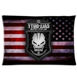 GENERIC American Flag Black Ops Pattern Cotton & Polyster  B