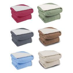 Biddeford Analog Comfort Knit Electric Heated Throw Blanket