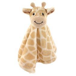 Animal Friend Plushy Security Blanket, Giraffe