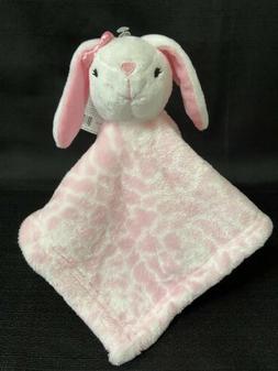 Hudson Baby Animal Friend Plushy Security Blanket, White Bun