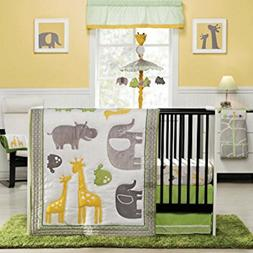 Carter's Animals 4 Piece Bedding Set with Diaper Stacker