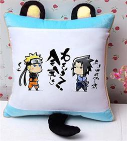 Siawasey® Anime Uzumaki Naruto Cartoon Cute Plush Pillow Cu