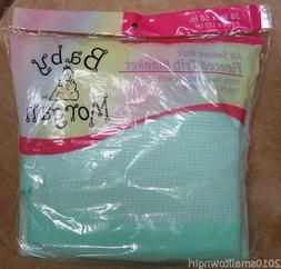 Baby Morgan Aqua Crib Blanket