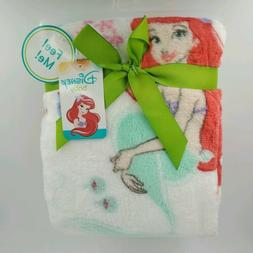 Disney Baby Ariel Baby Blanket baby girl 30x40 new with tags