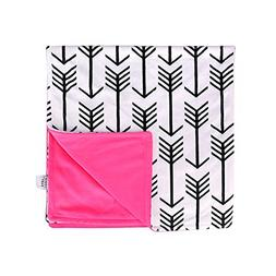 Towin Baby Arrow Minky Double Layer Receiving Blanket Pet Do