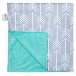 Towin Baby Arrow Minky Double Layer Receiving Blanket, Mint