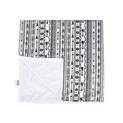 Towin Baby Arrow Minky Double Layer Receiving Blanket, Aztec