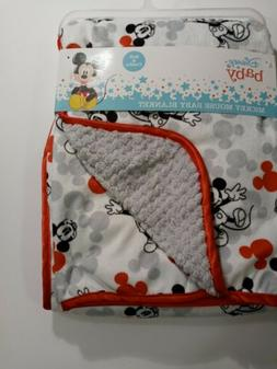 Authentic Disney Mickey Mouse Baby Blanket