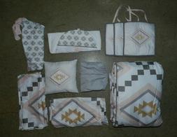 Sweet JoJo Designs Aztec Baby Bedding 11 Piece Crib Set