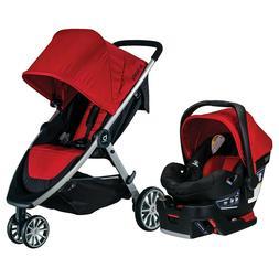 Britax B-lively Stroller & B-safe 35 Infant Car Seat Travel