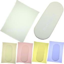 BabyPrem Baby Bedding 1 Fitted & 1 Flat Bassinet Sheet Blank