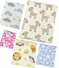 BabyPrem Baby Bedding Childs Pushchair Pram Blanket Soft Fle