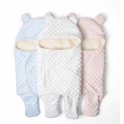 Baby Bedding Receiver Fleece Blanket For Newborn Infant Swad