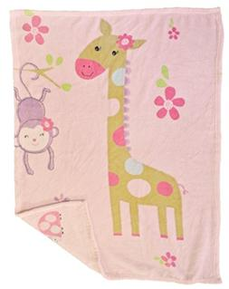 Baby Blanket  Super Soft Fleece Baby Girl's blanket/Cozy bla