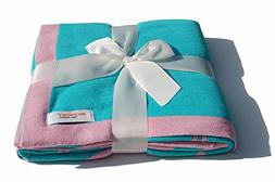 Newborn Baby Girl Gift -Cotton Baby Blanket for Stroller, Nu