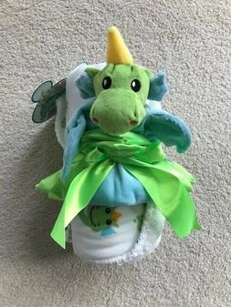 Baby Blanket & Dinosaur Security Cuddle Buddy LITTLE JOURNEY