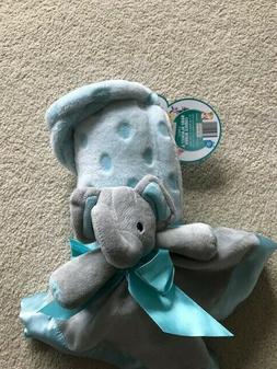 Baby Blanket & Elephant Security Cuddle Buddy LITTLE JOURNEY