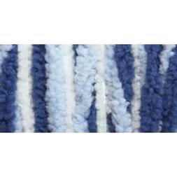 Baby Blanket Big Ball Yarn-Blue Twist