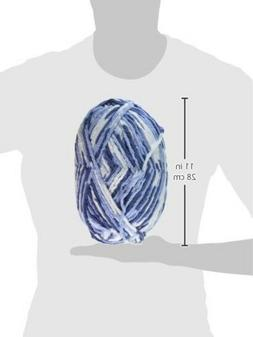 Bernat Baby Blanket Yarn -  Super Bulky Gauge - 10.5 oz - Bl