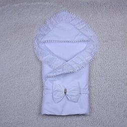 Baby Blanket, Blanket Envelope, Newborn Blanket, White Blank