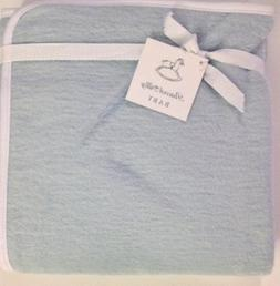 Peacock Alley Baby Blanket Blue 100% Egyptian Cotton by Peac