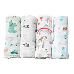 Baby Blanket Breathable Muslin Wrap Blankets Bamboo Fiber Ba