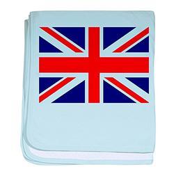 Royal Lion Baby Blanket British English Flag HD - Sky Blue