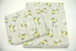Baby Blanket Burp Cloth Set Cute As Can Bee Can Be Personali
