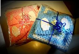 Baby Blanket, Cardigan and Scratch Mitt Gift Sets 0-6 months