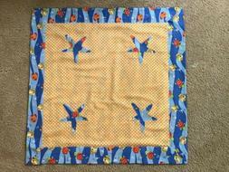 Handmade Baby Blanket Crib Bedding Nursery Beach Fish Design