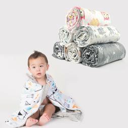 "Boritar Baby Blanket/Crib Quilt Soft Minky 30""x40"" Receiving"
