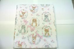 Baby Blanket Deer Foxes Squirrels Can Be Personalized 36x40