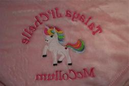 Baby Blanket Embroidered Personalized Monogrammed Stroller C