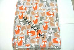 Baby Blanket Foxes Can Be Personalized 36x40