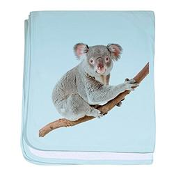 Royal Lion Baby Blanket Koala Bear on Branch - Sky Blue