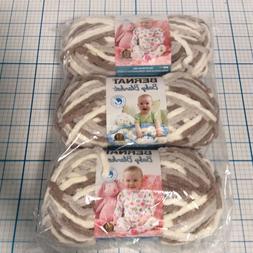 BERNAT Baby Blanket LITTLE SAND CASTLE  3.5 oz. 72 yrds  NEW